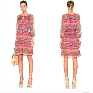 NWT floral silk DVF (Diane von Furstenberg) dress